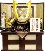 【五月人形送料無料】龍玉作「立体中鍬形着用兜」収納飾り《3281》