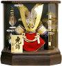 【五月人形送料無料】久月作「御兜」アクリルケース飾り《K51103》