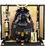 【五月人形・送料無料】久月作家紋「伊達政宗」鎧飾り(2060)