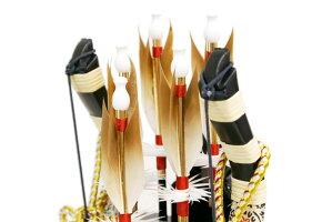 【破魔弓送料無料】久月作「銀嶺」ガラスパノラマケース飾り《251308》ご購入特典付き