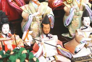 【雛人形送料無料】久月「十五人飾り」アクリルケース(66361)
