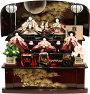 【送料無料雛人形】千匠作「雛ごよみ」三段収納飾り《45A-47》