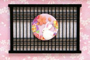 【雛人形送料無料】久月作木目込み「ほのか立姿雛真咲雛」ケース飾り(HN2-14B)