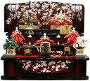 【人気商品!!】千匠作 平安十二単衣「雛ごよみ」三段飾り 雛人形送料無料!!《37N-2》