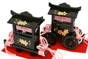【雛人形送料無料】吉徳大光伝統紋様裂地「御雛」五人収納式三段飾り(606-112)