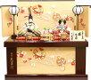 【雛人形送料無料】久月作「よろこび雛」二人親王コンパクト収納飾り(S-33171)