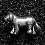 タイシルバーピアス(dog)