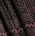 インド 更紗 コットン サリー パープル系 プレゼント アジアン インド綿 インド更紗 エスニック インテリア 送料無料!