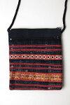 タイ民族刺繍のパッチワークポシェット