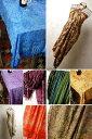 インドネシア 10色から選ぶ バリ島手描き染めパレオ ビーチ...