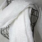 インドラクノウ手刺繍コットンストール(大判)