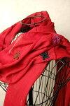 インド花刺繍コットンストール