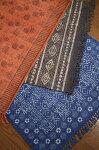 インドの敷物★草木染めコットンダリーリビングマットサイズ