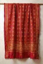 インドウエストベンガル州の手刺繍のシルクドゥパタ
