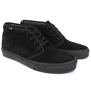 VANS CHUKKA BOOT [BLACK / BLACK] (バンズ/ヴァンズ・チャッカブーツ・メンズ・スニーカー・シューズ・靴)