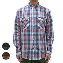 BRIXTONMEMPHISL/SWVN[2色](ブリクストン・長袖チェックシャツ・スケート・メンズ)
