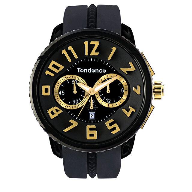 腕時計, 男女兼用腕時計 TENDENCE GULLIVER Round WATCHES BLACK GOLD( )2