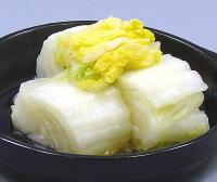昔ながらの素朴な味!白菜漬