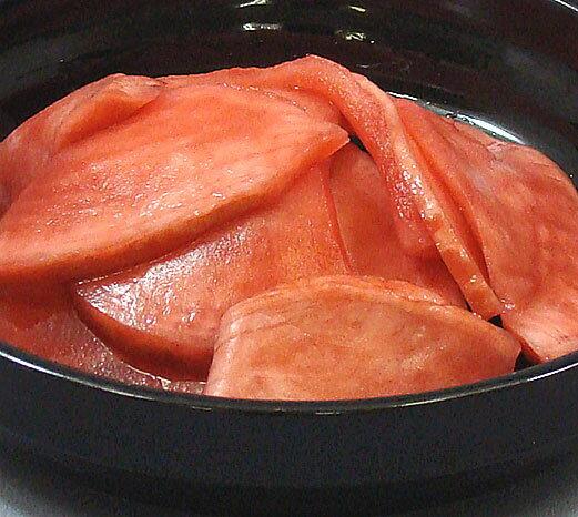国産原料100%着色料、保存料ゼロ!「赤かぶ漬」 1kg