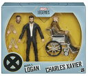 (在庫有り)マーベル レジェンズシリーズ6インチX-MENマーベルのローガン&チャールズザビエル図2パック