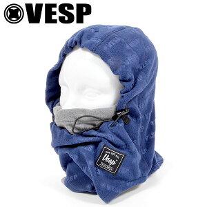 フードウォーマー VESP ベスプ EMBOSS LOGO FLEECE BALACLABA フェイスマスク バラクラバ フリース 防寒 スノーボード メンズ レディース ユニセックス 18/19 20%off