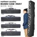 送料無料スノーボードケース3WAYスノボバッグNorthernCountryノーザンカントリーボードバッグ全面パッド入り160cm148cm得割35