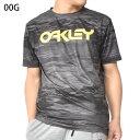 得割30 水陸両用 半袖 ラッシュ Tシャツ OAKLEY オークリー メンズ RASH TEE 10.0 ラッシュガード UVカット Tシャツ サーフ サーフィン ボディボード プール 海水浴 マリンスポーツ アウトドア UPF50+ FOA400852 00G 2