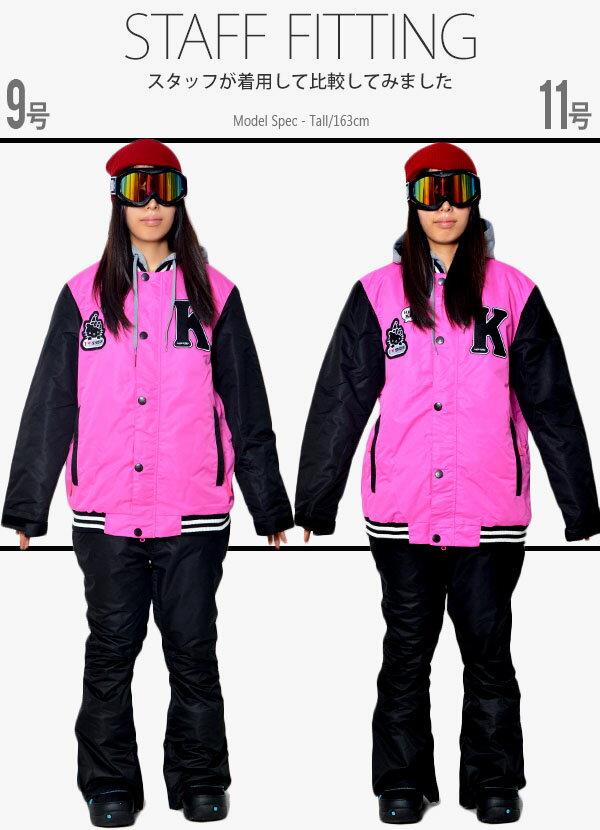 送料無料スノーボードウェアハローキティコラボスノーボードジャケットレディーススノボウェアHELLOKITTYスキーウエアSNOWBOARDスノーボードウエア【あす楽対応】