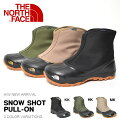 送料無料ザ・ノースフェイスTHENORTHFACEメンズレディースSnowShotPull-Onスノーショットプルオンショートブーツウインターブーツスノーブーツスノトレ撥水シューズ靴nf51761ザノースフェイス2017秋冬新作15%off