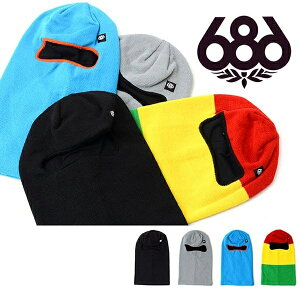 バラクラバ 686 SIX EIGHT SIX シックスエイトシックス FULL FACE BALACLAVA メンズ レディース スノボ スノーボード フェイスマスク スキー ウインタースポーツ 目だし帽 得割40
