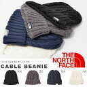 ニット帽 ザ・ノースフェイス THE NORTH FACE メンズ レディース Cable Beanie ケーブル ビーニー 帽子 アウトドア NN41520 アクリル素材