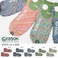 優しい履き心地♪ラソックスrasox靴下ソックスSPLASHROWスプラッシュロウL字型日本製メンズレディースくるぶしショート丈アンクルスニーカーCA061AN39