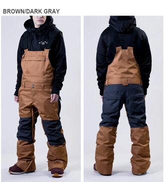 送料無料 スノーボードウェア SCAPE エスケープ OVERALL PANTS メンズ パンツ オーバーオール スノボ スノーボード スノーウェア ボトムス 2018-2019冬新作 18-19 18/19 20%off