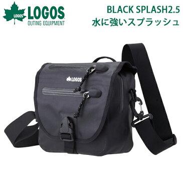送料無料 ロゴス LOGOS BLACK SPLASH スケイパー メンズ レディース 2.5L 防水 軽量 コンパクト ショルダーバッグ 斜め掛けバッグ ミニバッグ アウトドア カジュアル 旅行