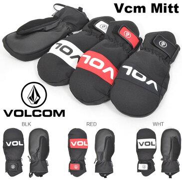 送料無料 スノーグローブ VOLCOM ボルコム メンズ Vcm Mitt ミトン 手袋 防寒 スノーボード スノボ スキー スノー グローブ J68519JA 2018-2019冬新作 18-19 日本正規品 得割10