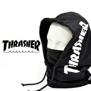 フードウォーマー THRASHER スラッシャー 17TH-K56 HOOD メンズ レディース フリース フェイスマスク バラクラバ 防寒 スノボ スノーボード スキー SNOWBOARD SKI 20%off
