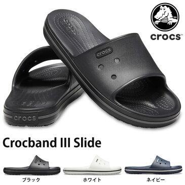 送料無料 サンダル クロックス crocs クロックバンド 3.0 スライド メンズ レディース スポーツサンダル シャワーサンダル シューズ 靴 Crocband III Slide 205733 日本正規品