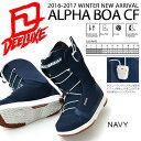 【得割30】送料無料 ディーラックス DEELUXE スノーボード ブーツ ALPHA CF レディース アルファ スノボ ノーマルインナー SNOWBOARD