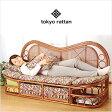 tokyo rattan 東京ラタン ソファ 天然 籐 ラタン 籐製 ハイバック カウチソファ 幅160cm アジアン TG