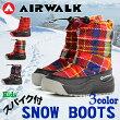 エアウォーク【AIRWALK】ジュニアガールズスノーブーツAWSNB-451610ウインターブーツシューズ靴ブーツ通学タウンユーススポーツキッズ子供子ども