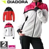 ディアドラ【DIADORA】レディース DTF トレーニング ジャケット DT4176 1702 アウター 上着 長袖 ウインドブレーカー トレーニング 運動 ジョギング フルジップ ウィメンズ 婦人