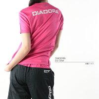 ディアドラ【DIADORA】レディースDTFTシャツDT45781702半袖シャツトップスウェア運動スポーツフィットネスジムUV吸汗速乾ウィメンズ婦人