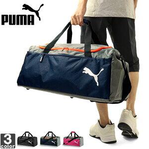 プーマ【PUMA】 ファンダメンタルス スポーツバッグ M 075528 1809 鞄 ボストンバッグ 2WAY 大容量 出張 合宿 旅行 アウトドア キャンプ バッグ ショルダー