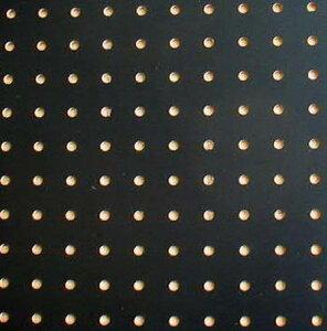 【アウトレットDIY】カラー有孔ボード 黒【パンチングボード】