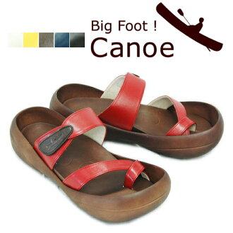 Japan made by Bigfoot! Men's カヌークロストング Sandals c200 (4 colors s)