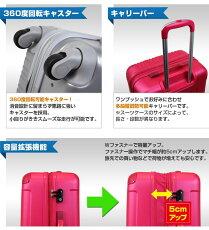 キャリーケーススーツケース超軽量SUITCASE機内持ち込み可旅行鞄1年保証付アウターフラットモデルのスーツケース新作小回り旅行かばん2日3日【品番:SSサイズ5082-48cm】【10P19Mar14】