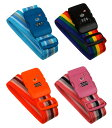 スーツケースと同時購入で500円♪スーツケース一点につき一点限り 同梱専用商品 TSAロック搭載 便利なダイヤルロック式スーツケースベルト カラフルな4色SB-791