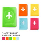 パスポートカバーハッピーフライトパスポートカバー・プラスカラフルな5色passportcoverSNCF-012