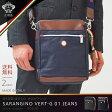 【期間限定ポイント還元】orobianco オロビアンコ ショルダーバッグ 縦型 スリム バッグ ビジネス カジュアル 鞄 旅行かばん SARANGINO VERT-G 01 JEANS(orobianco-90638)