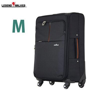 ソフトキャリーバッグ ソフトキャリー スーツケース レジェンドウォーカー 軽量 ソフトケース Legend Walker レジェンドウォーカー M サイズ 中型 5泊 6泊 7泊 対応 海外旅行 4031-61